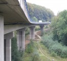 BAB A9, Hangbrücke bei Osternohe