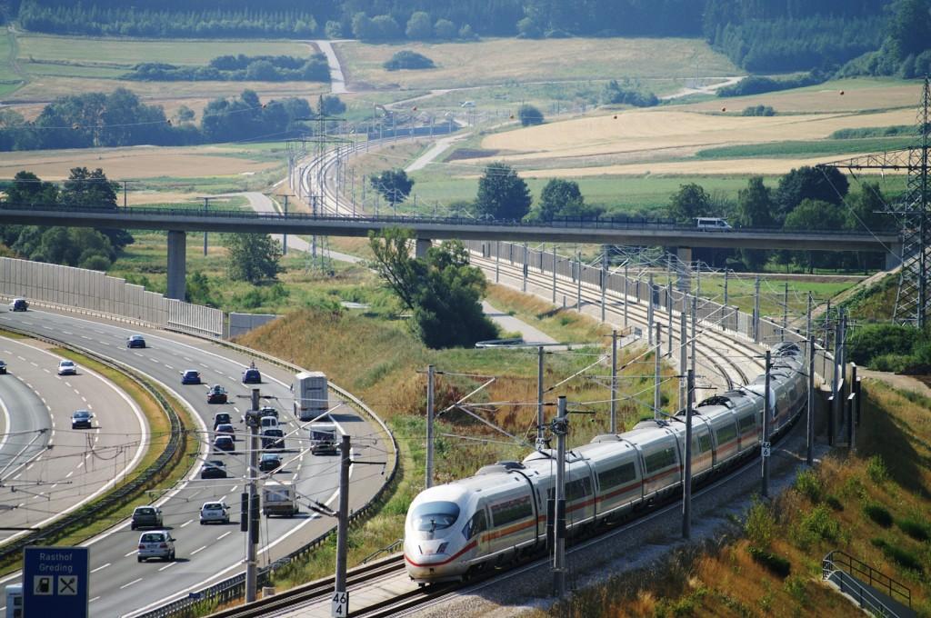 Eisenbahnstrecke München-Nürnberg