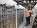 Bauwerkinstandsetzung; Betonabtrag durch HDW
